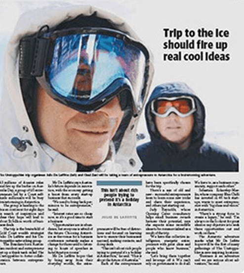 Real Cool Ideas - Unstoppables Antartica